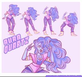 Aura Quartz by UrsulaDecay