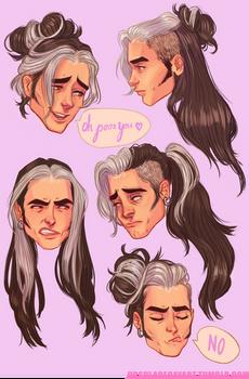 Olly's hair