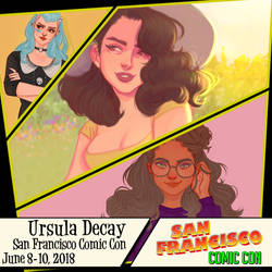 San Francisco Comic Con by UrsulaDecay