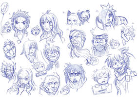 Heads, heads heads by RemiLatour