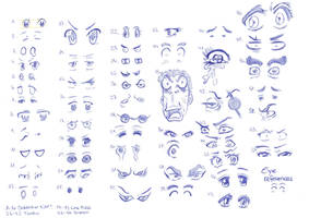 Eye References 06_08_14 by RemiLatour