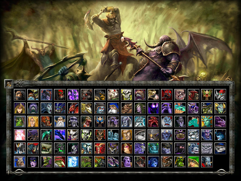 photo collection dota allstars heroes