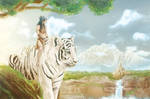 Tiger and Amazone