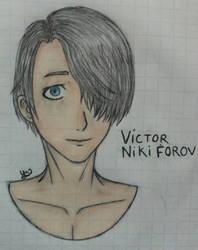 victor nikiforov yuri!!! on ice by yulisabrambila