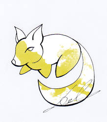 Watercolor Fox 04