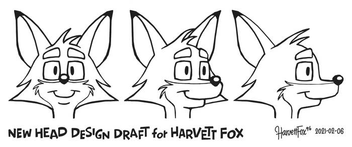 Harvett Fox - New Head Design Draft (raw version)