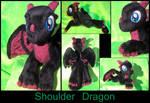 Lean, the shoulder dragon hatchling