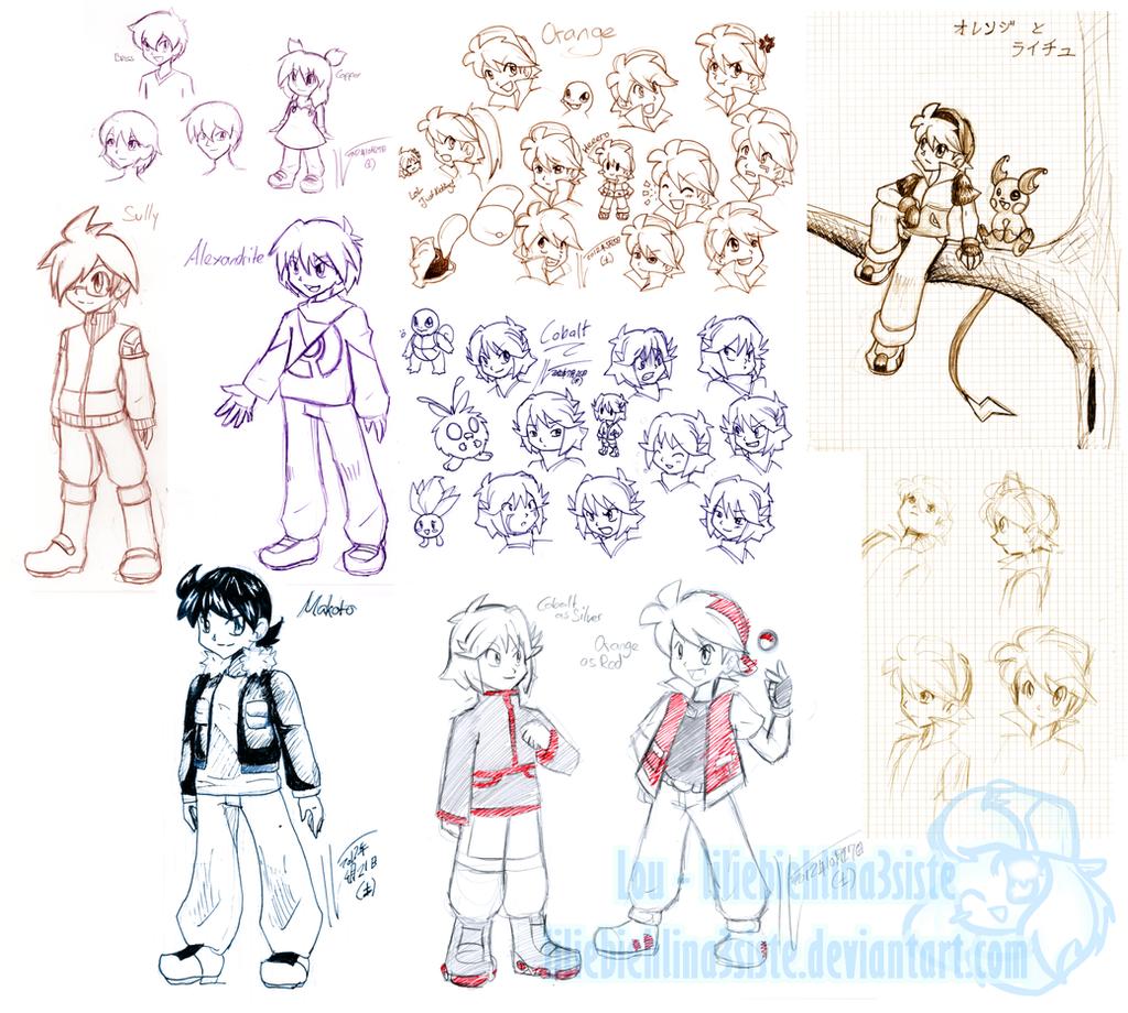 PokeSpe+ Sketchdump by liliebiehlina3siste
