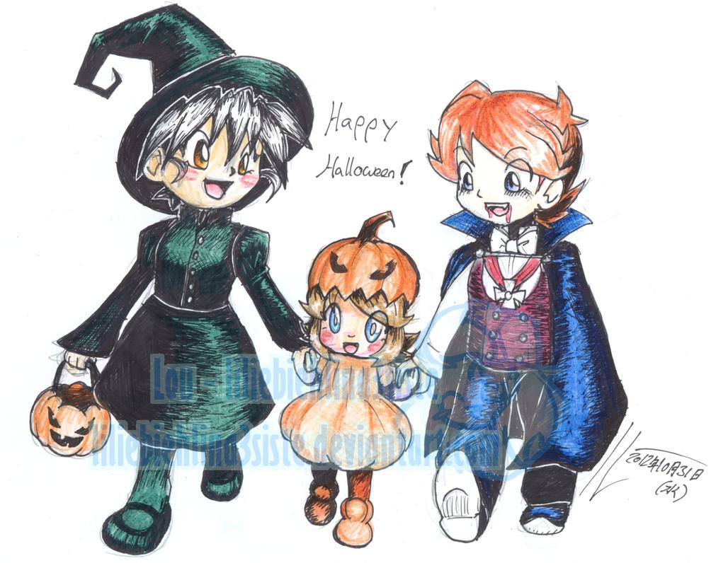 Happy Halloween by liliebiehlina3siste