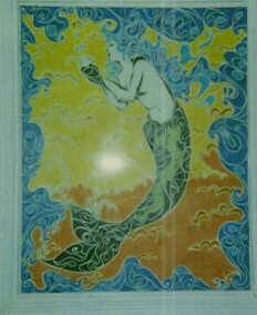 Winters' Mermaid by WVSnowgoddess