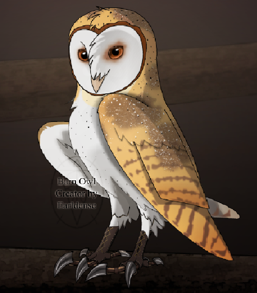 shard the barn owl by king coryn101 on deviantart