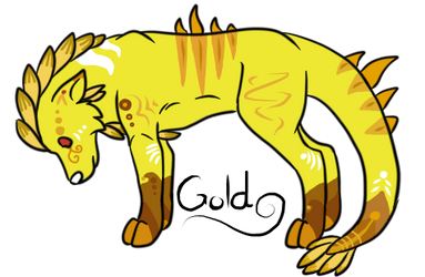 Gold Guardian by fireclaws5636