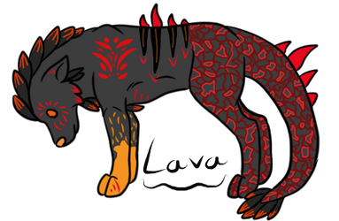 Lava Guardian by fireclaws5636