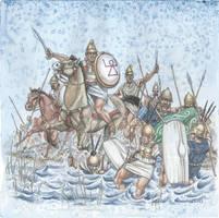 The Ambush at Trebbia 218 BC by Curundil