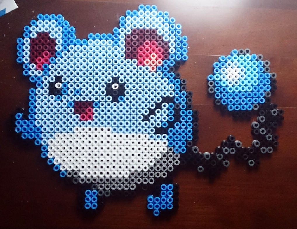 Marril perler bead #8 by isaletheia