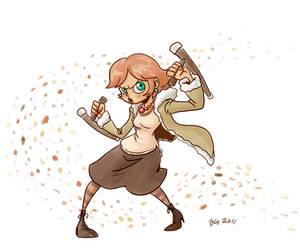 Tonfa is such a girley weapon
