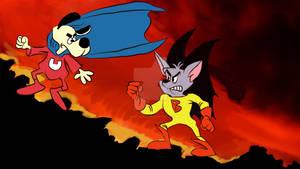 Batfink versus Underdog