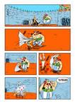 OnePunch Man versus Obelix