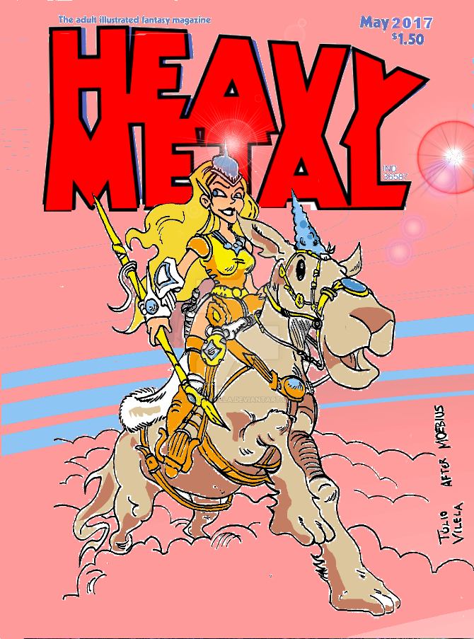 Heavy Metal Fake Cover by Tulio-Vilela