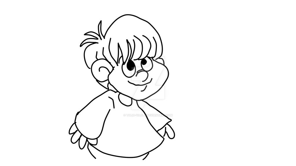 Little Boy by Tulio-Vilela