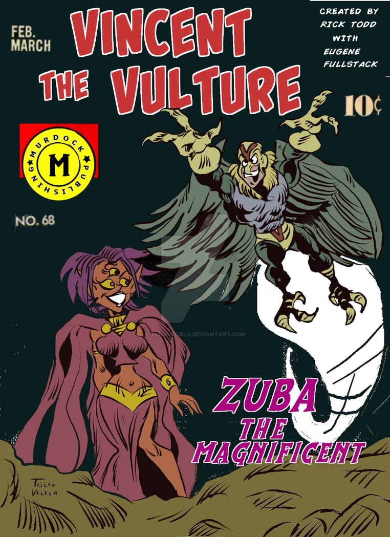 Vincent The Vulture Comic Book Cover By Tulio Vilela On Deviantart