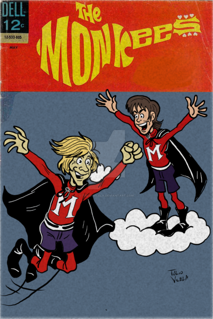 Tribute to Peter Tork and Davy Jones by Tulio-Vilela