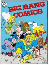 Big Bang Comics in MAD Style