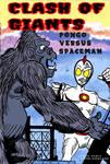 Spaceman versus Pongo by Tulio-Vilela