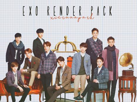 Pack PNG #39 EXO (Ivyclub)