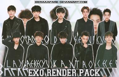 Pack PNG #47 EXO (Japan Photobook Exodus)