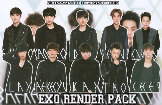 Pack PNG #47 EXO (Japan Photobook Exodus) by XieraaaPark