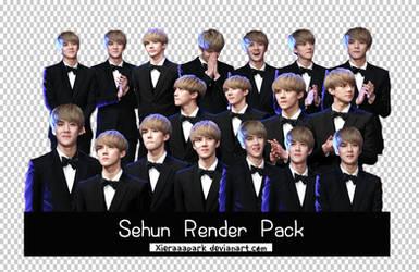 Pack PNG #57 Sehun (EXO) by XieraaaPark