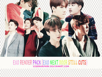 Pack PNG #65 EXO (Exo Next Door Still Cuts) by XieraaaPark