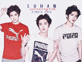 Pack PNG #128 Luhan by XieraaaPark
