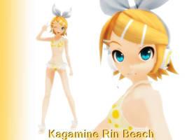 Rin Beach DL -cerrado- by hidara-kun
