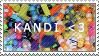 Kandi Stamp by skyliines