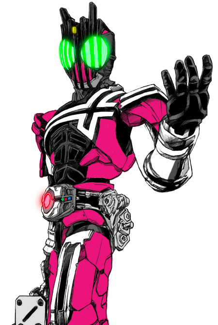 Just A Kamen Rider Passing Through by DrunkenShinigami
