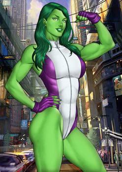 She Hulk Sale On E Bay Now  By Carlosbragaart80