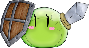 Monster Can Be Heroes Too! Lime The Slime