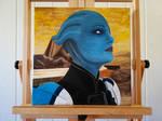 Liara On Canvas by BarbDBarb