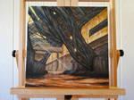 Ilos On Canvas by BarbDBarb