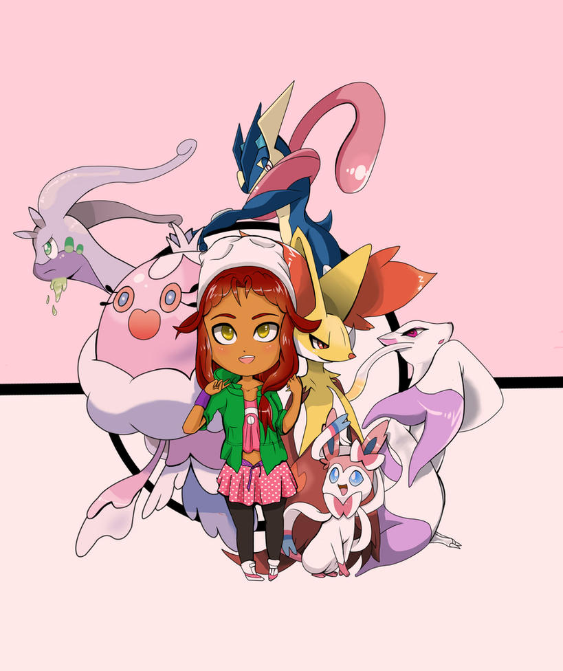 OC Pokemon Trainer by Strawb3rry-D3mon