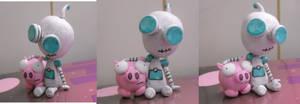 GIR and Piggy Figure