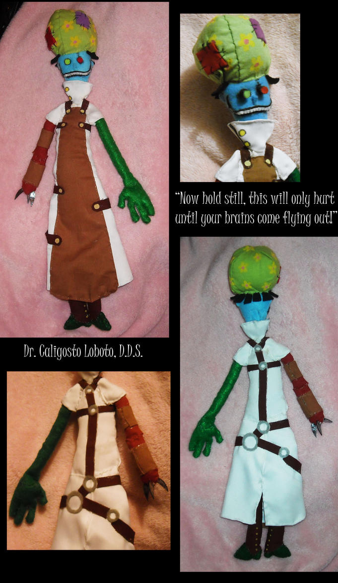 Dr. Loboto Plushie by DonutTyphoon