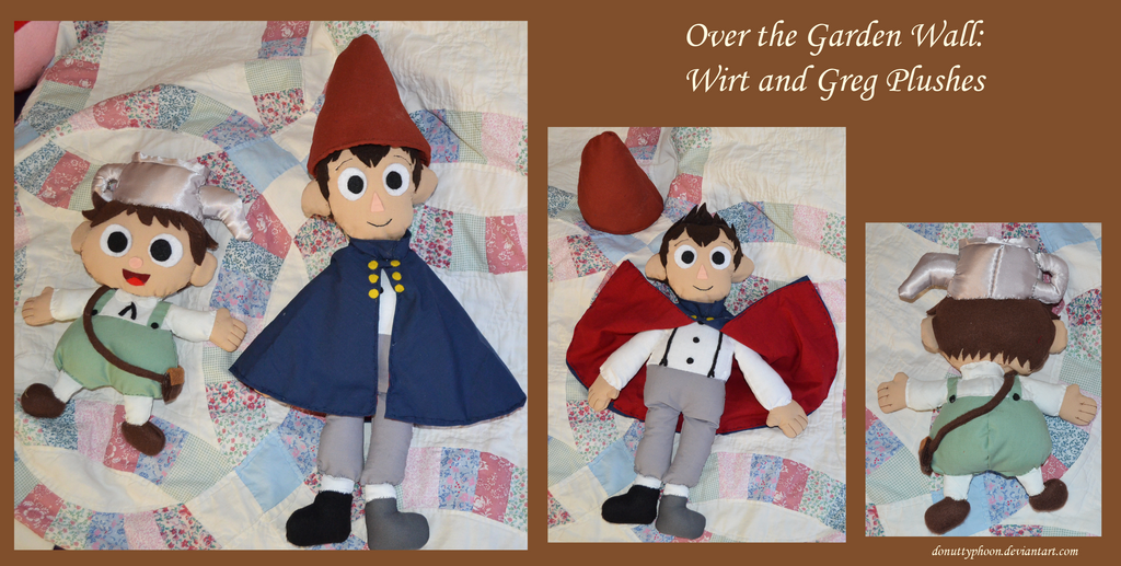 Otgw wirt and greg plushes by donuttyphoon on deviantart for Over the garden wall episode 3