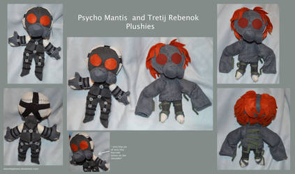 Spooky-Psychic-Floaty-Gas-Masked Plushies