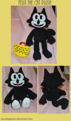 Felix the Cat Plush