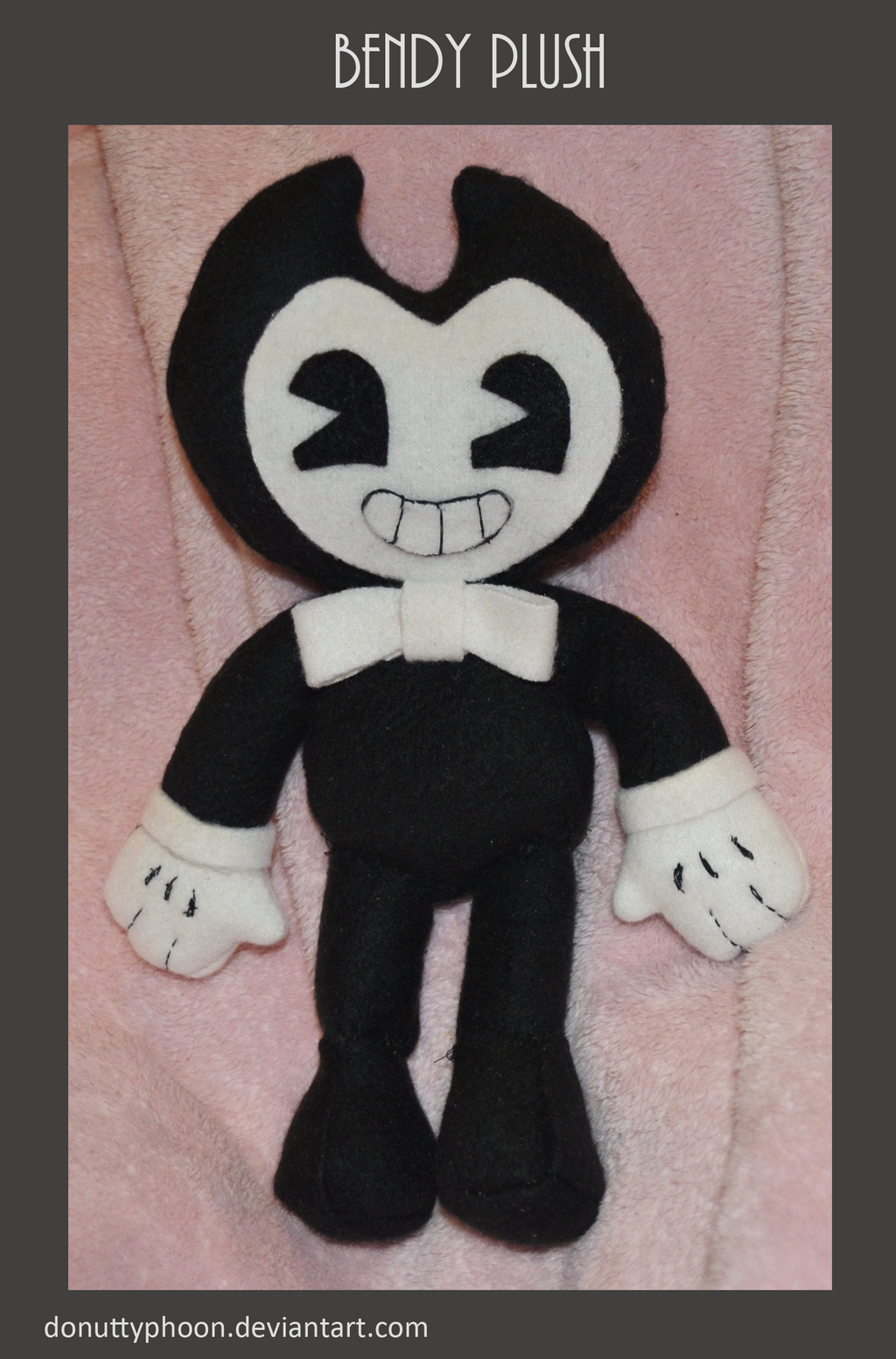 Bendy Plush by DonutTyphoon on DeviantArt