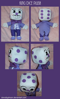 King Dice Plush by DonutTyphoon