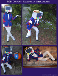 RGB Cosplay Halloween Shenanigans